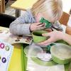 Kinderen leren de 4 smaken zuur, zoet, bitter en zout kennen en apreciëren