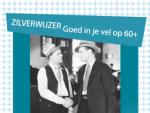 Zilverwijzer affiche blauw