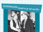 Zilverwijzer flyer blauw